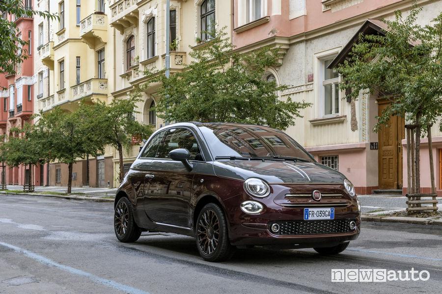Fiat_500 Collezione cabrio, vista di profilo