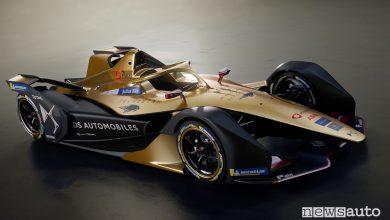 DS E-Tense FE 19 Formula E 2019, vista di profilo