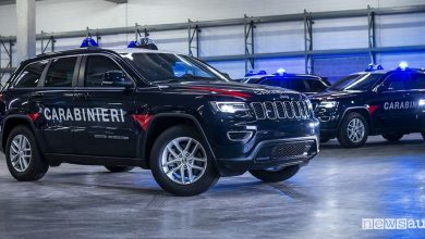 Photo of Auto dei Carabinieri, Jeep Grand Cherokee