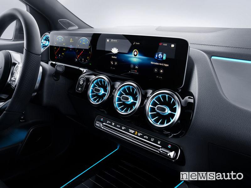 Mercedes-Benz Classe B 2019 AMG Line, plancia strumenti