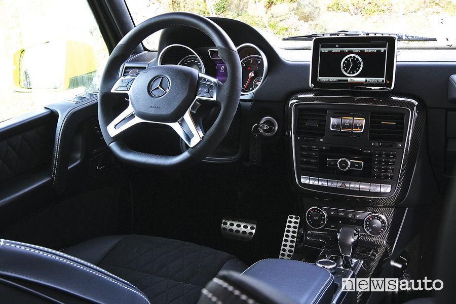 Mercedes G 500 4x4² (al quadrato), abitacolo
