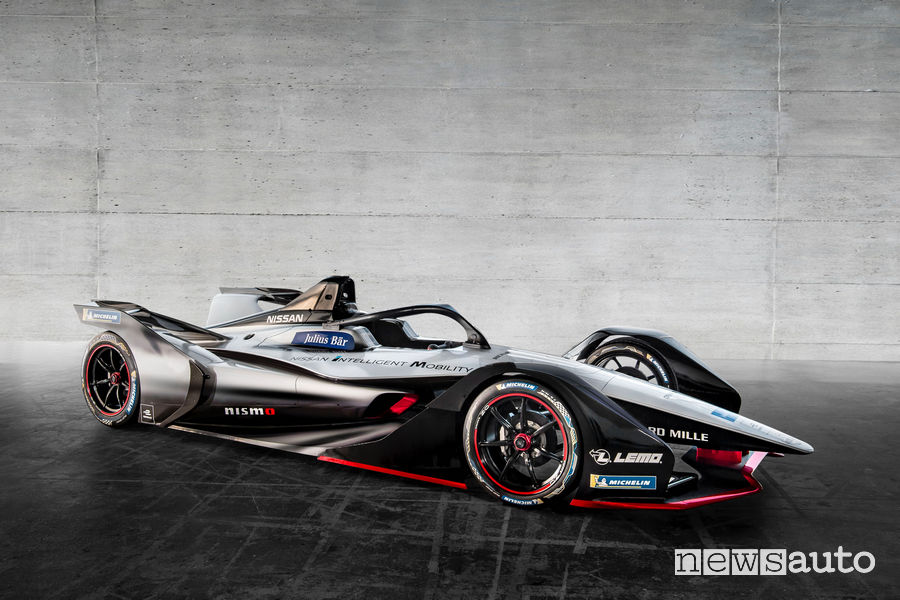 Nissan e.dams monoposto Formula E 2019