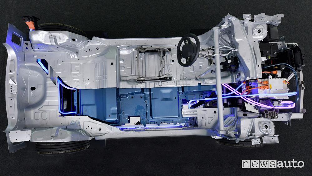 PSA piattaforma modulare CMP auto elettriche