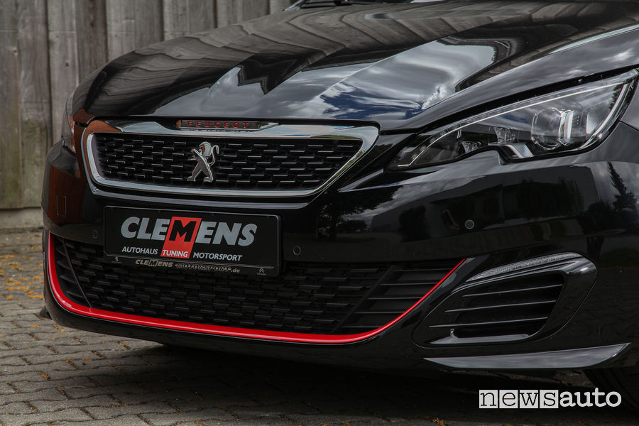 Peugeot_308_GTi Clemens Motorsport, frontale