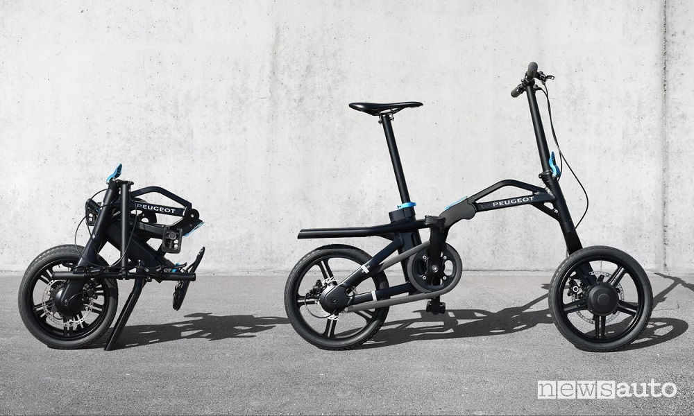 Peugeot e-bike pieghevole eF01