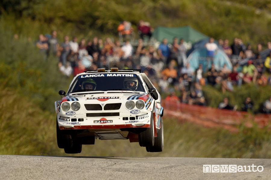 Lancia S4 storica al Rallylegend