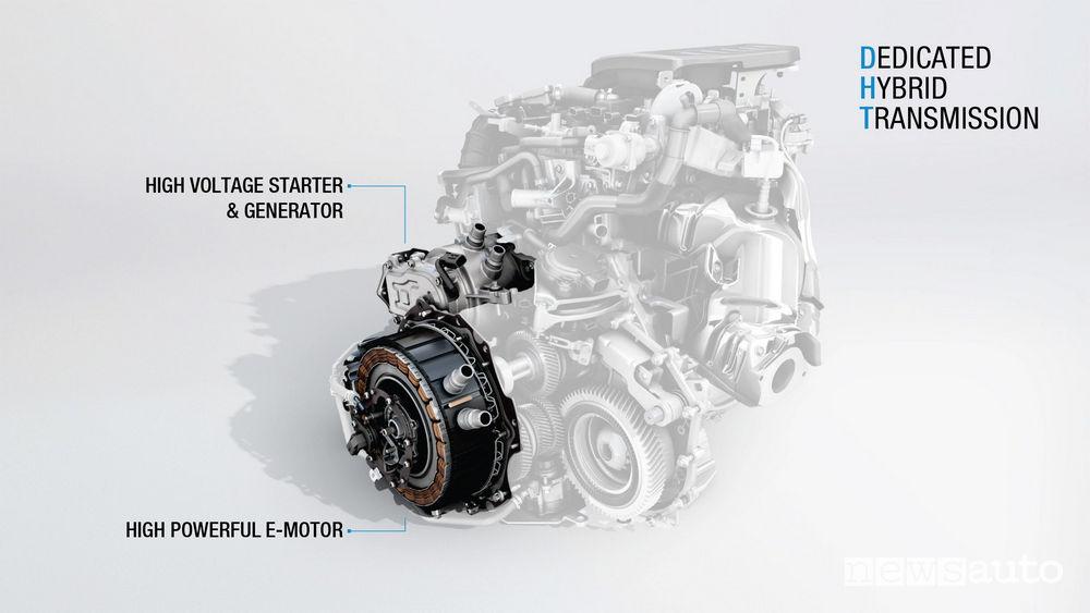 Renault motore ibrido DHT E-TECH