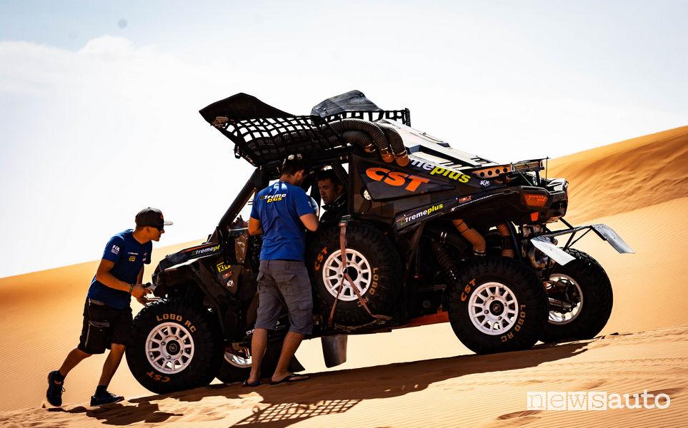 Test nel deserto Polaris_RZR quad Team Xtreme Plus