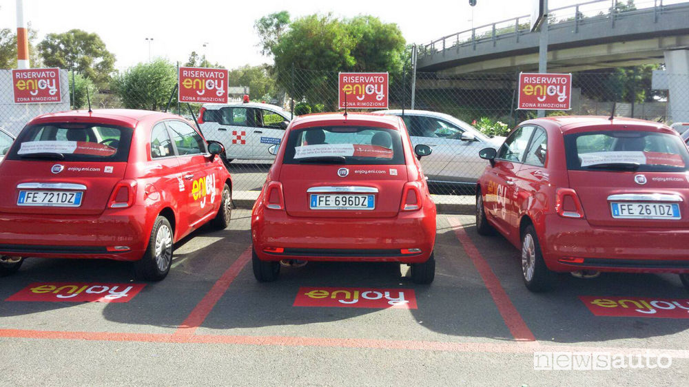 Enjoy Parking posti riservati