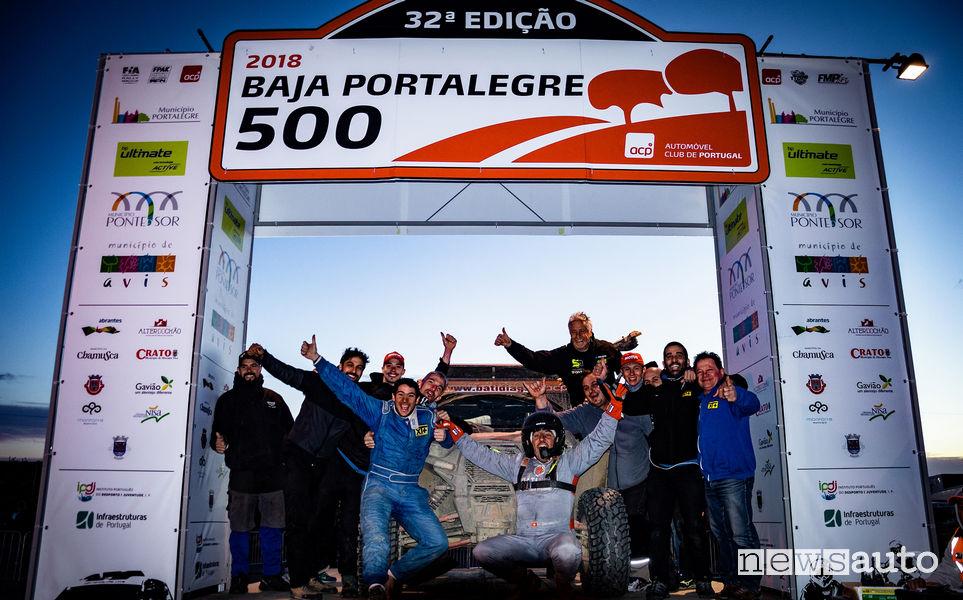 Baja Portalegre 500 team Xtreme+