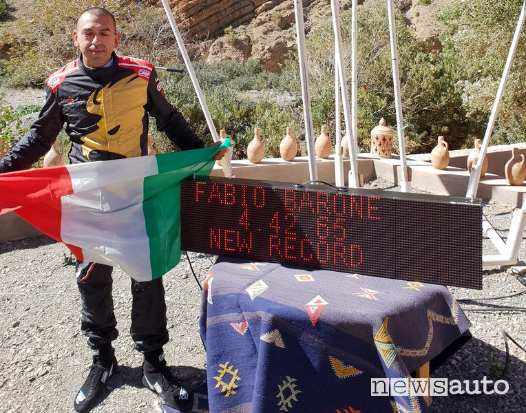 Fabio_Barone World Record in Marocco