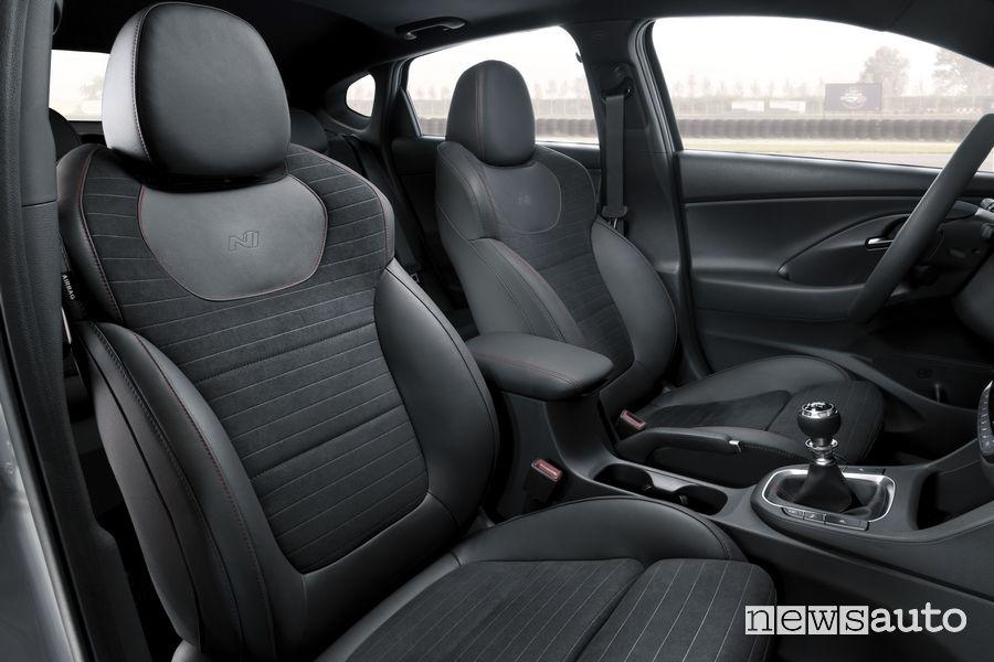 Hyundai_i30 Fstback N 2019, sedili anteriori
