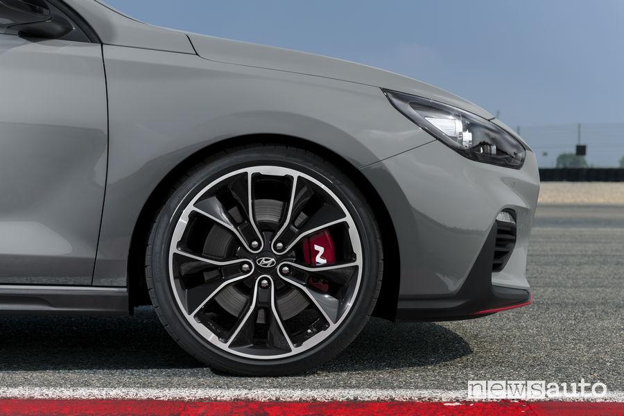 Hyundai_i30 Fstback N 2019, cerchi in lega