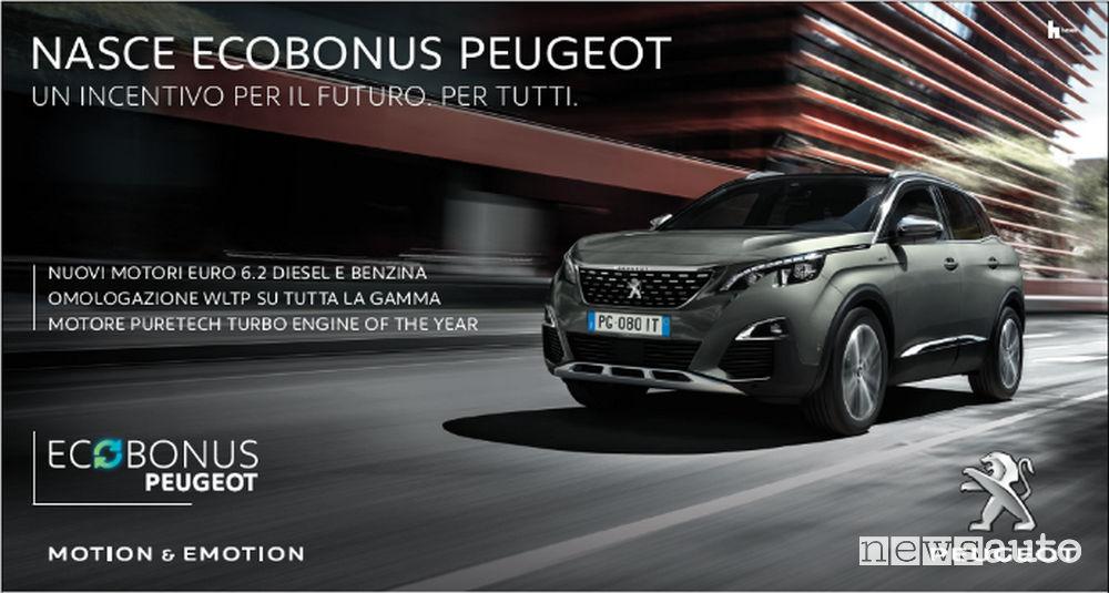 Incentivi auto Peugeot Ecobonus