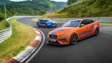 Photo of In TAXI al Nürburgring con la Jaguar XE SV Project 8 600 cv