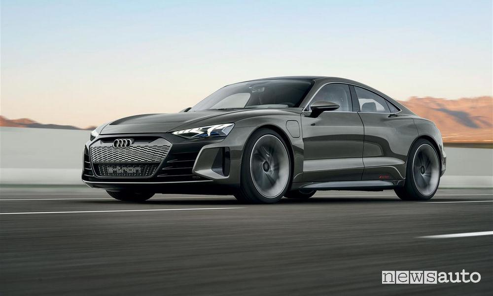 Audi_e-tron GT concept, vista di profilo