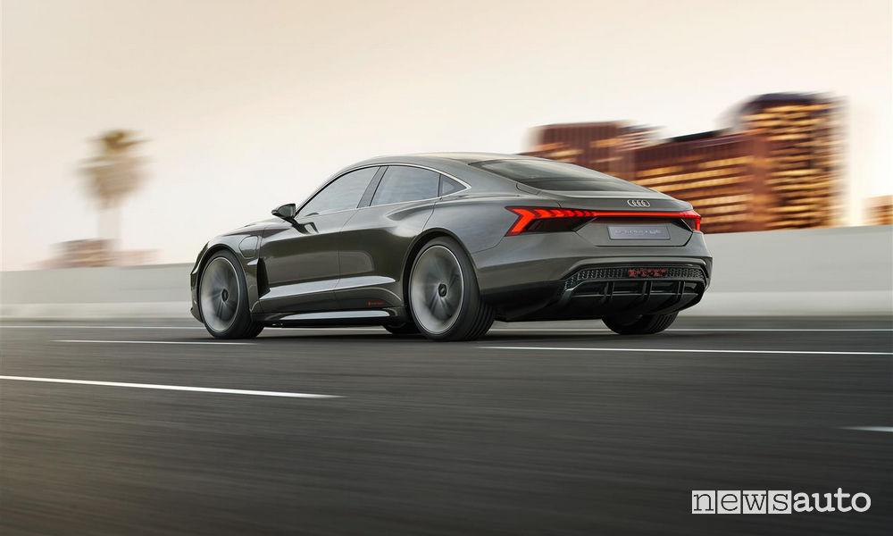 Audi_e-tron GT concept, vista posteriore