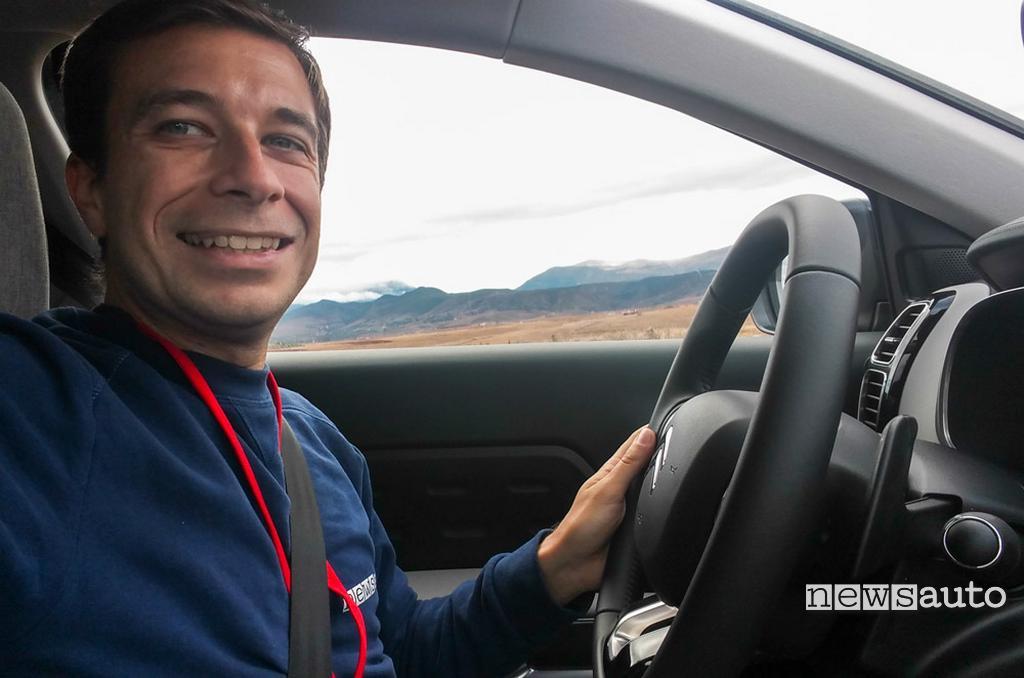 CITROEN C5 AIRCROSS con Marco Paternostro alla guida