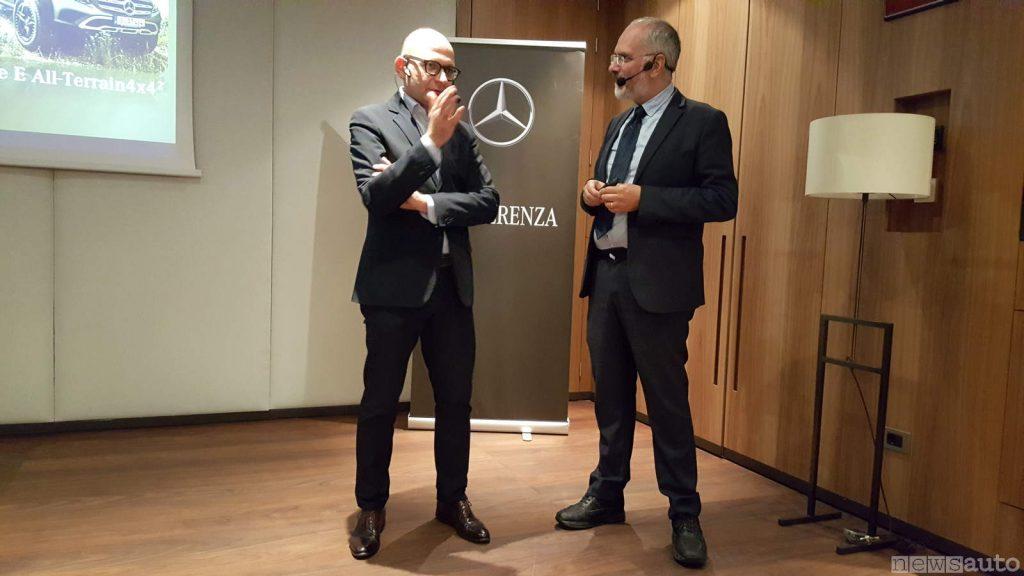 Paolo Lanzoni ed Eugenio Blasetti Mercedes Benz Italia