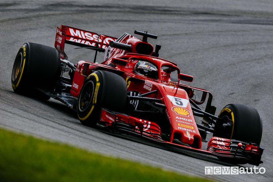 F1 Gp Brasile 2018, Ferrari (Vettel)