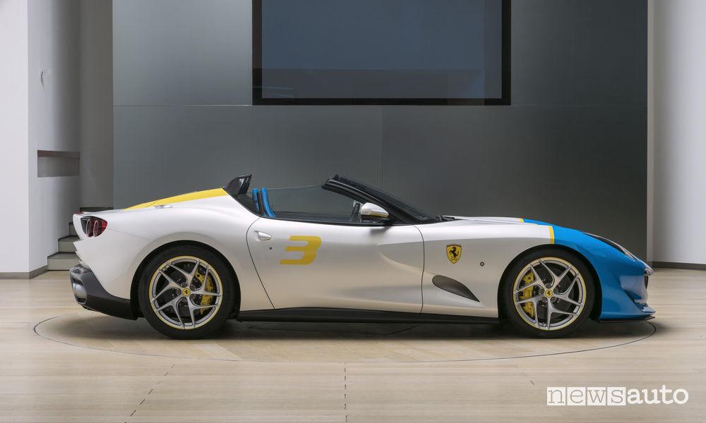 Ferrari_SP3JC One Off, vista laterale