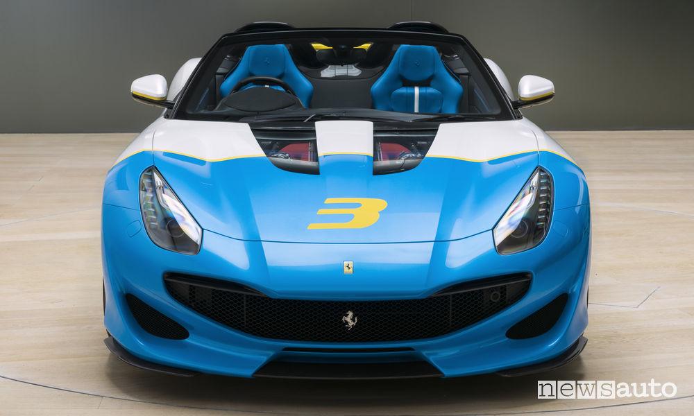 Ferrari SP3JC One Off, vista frontale