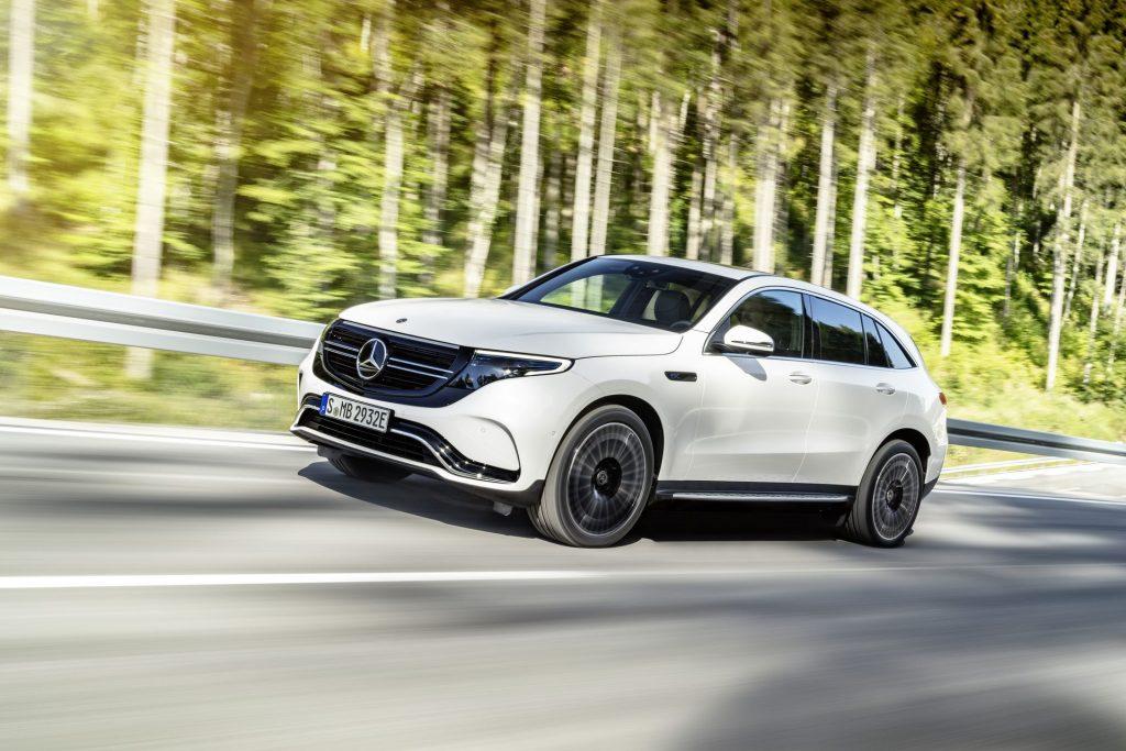 Mercedes EQC auto elettrica sportiva