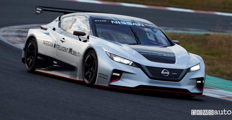 Auto elettrica da corsa Nissan Leaf Nismo RC