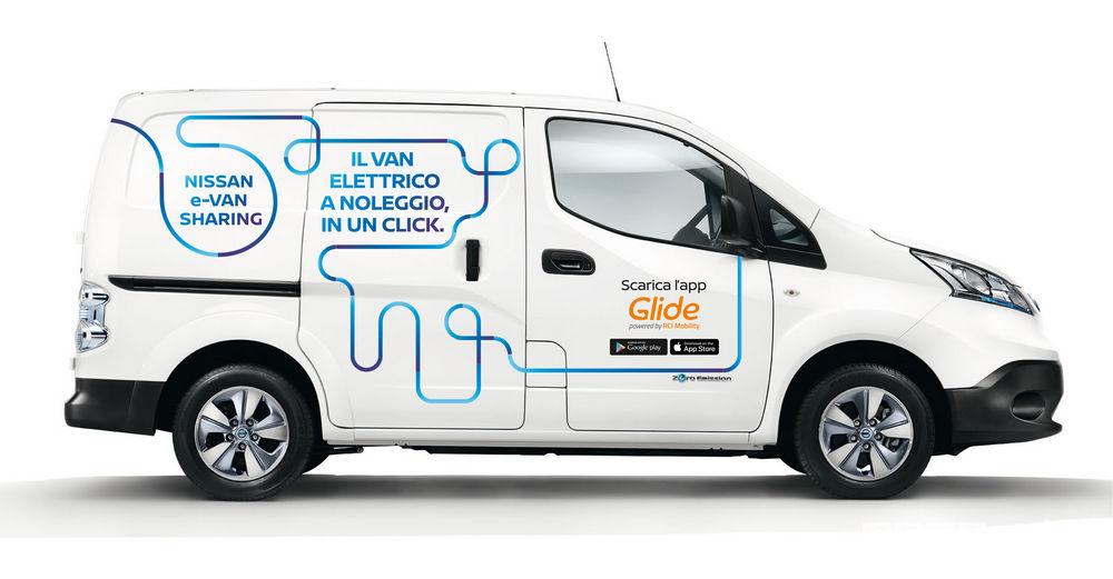 Noleggio Nissan_e-NV200 e-Van Sharing