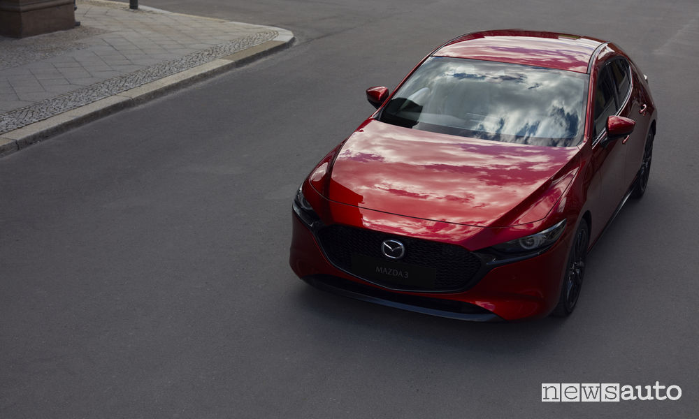 Nuova_Mazda3 hatchback, vista frontale