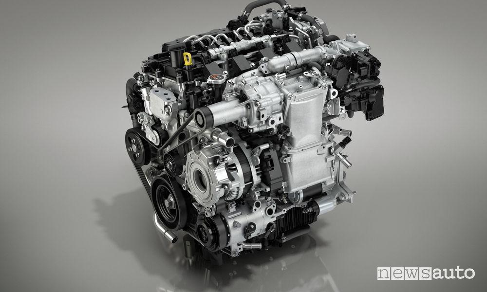 Nuova_Mazda3 hatchback, motore Skyactiv