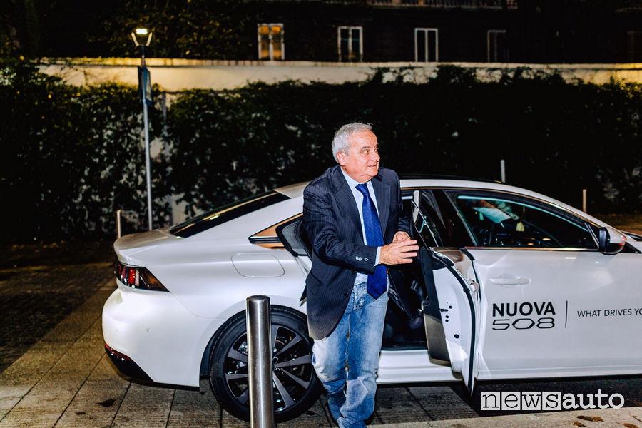 Peugeot 508 evento premio all'Eccellenza a Milano