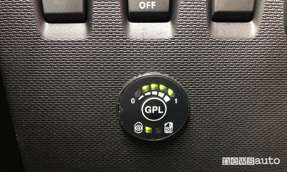 Renault_Twingo GPL 2019, indicatore livello GPL