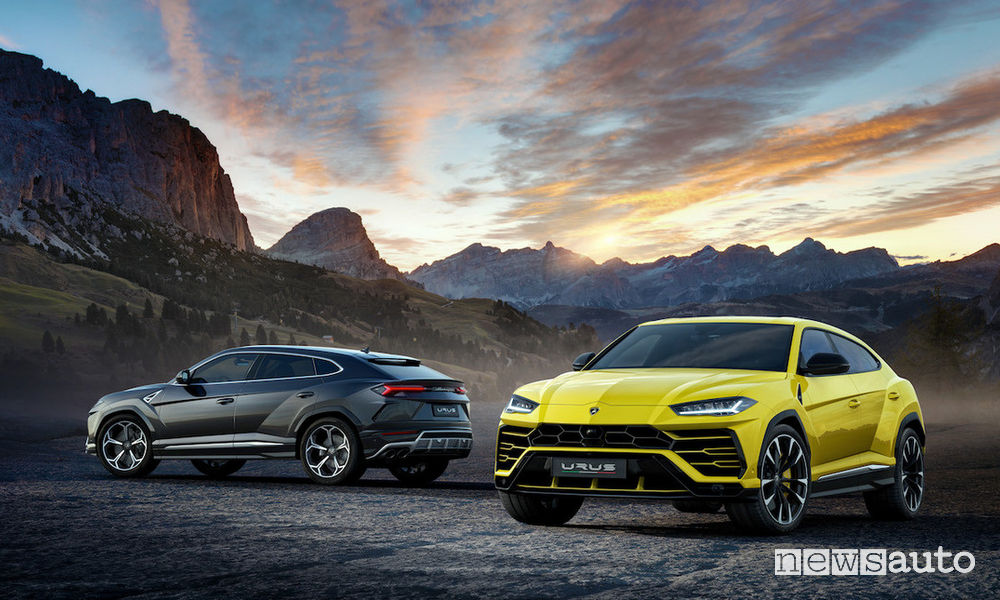 SUV ad alte prestazioni Lamborghini Urus