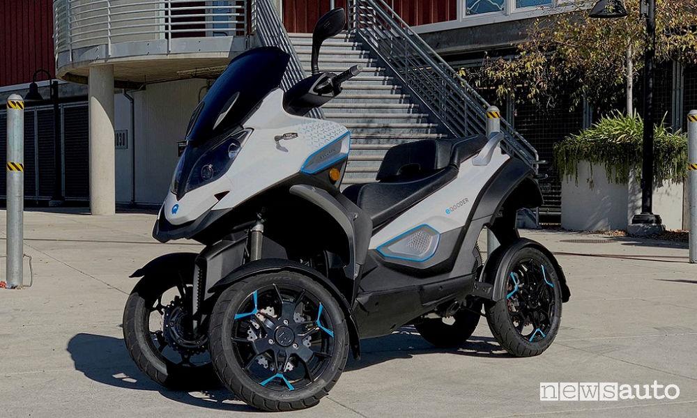 Scooter a 4 ruote elettrico ruote Quadro Vehicles