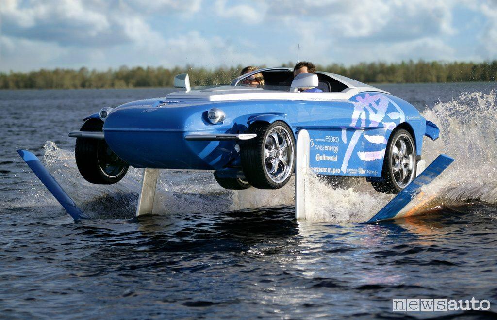Auto Anfibia Rinspeed Splash elica