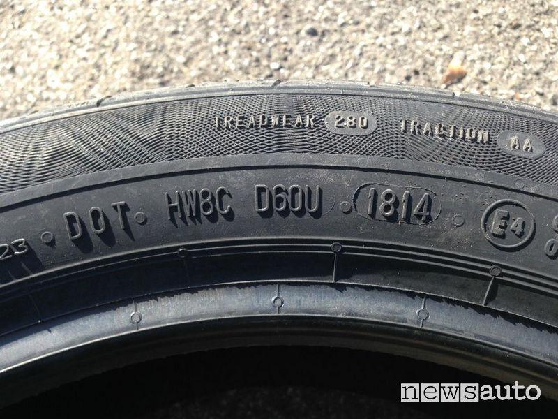 Quanto dura un pneumatico?
