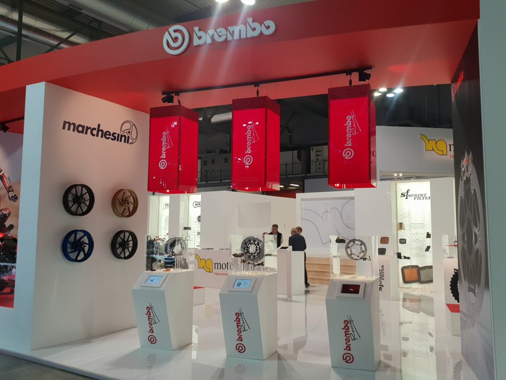 Eicma 2018 stand motorquality Brembo