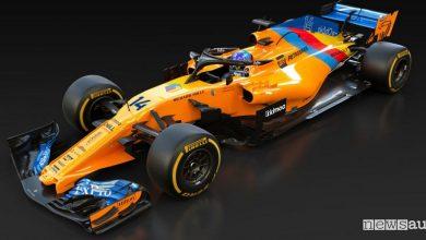F1 2018 livrea celebrativa Alonso McLaren Abu Dhabi