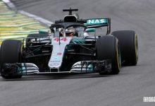 F1 2018 Gp Brasile Mercedes-AMG Hamilton