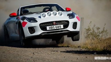 Photo of Auto da rally, speciali Jaguar F-Type spider