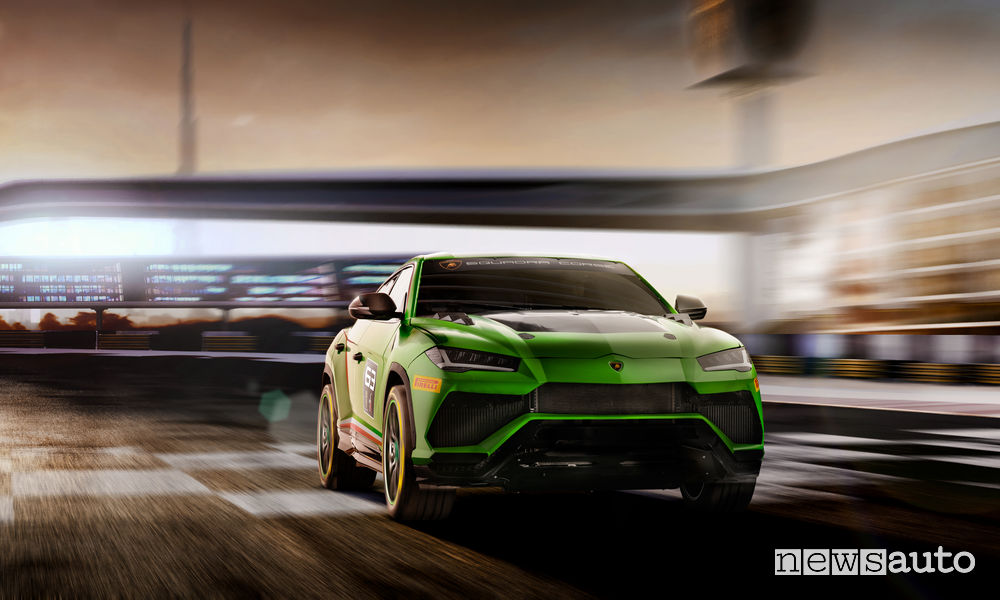 Lamborghini_Urus ST-X Concept, vista frontale