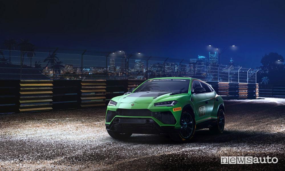 Lamborghini_Urus ST-X Concept, vista di profilo