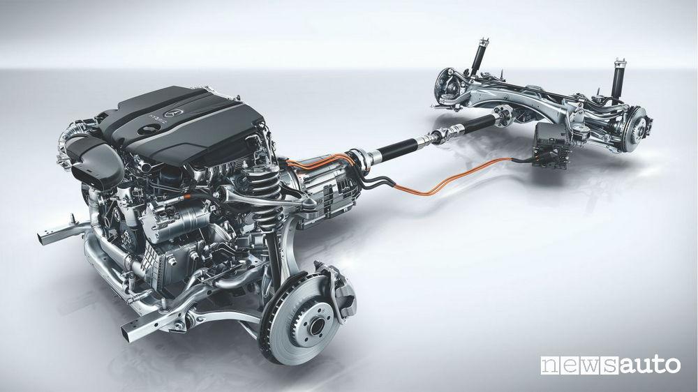 Mercedes Classe E ibrida plug-in