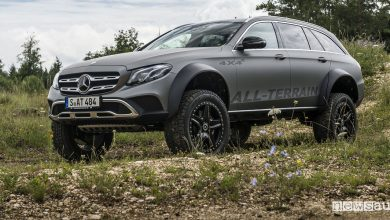 Photo of Mercedes Classe E All-Terrain, il segreto del portale 4×4²