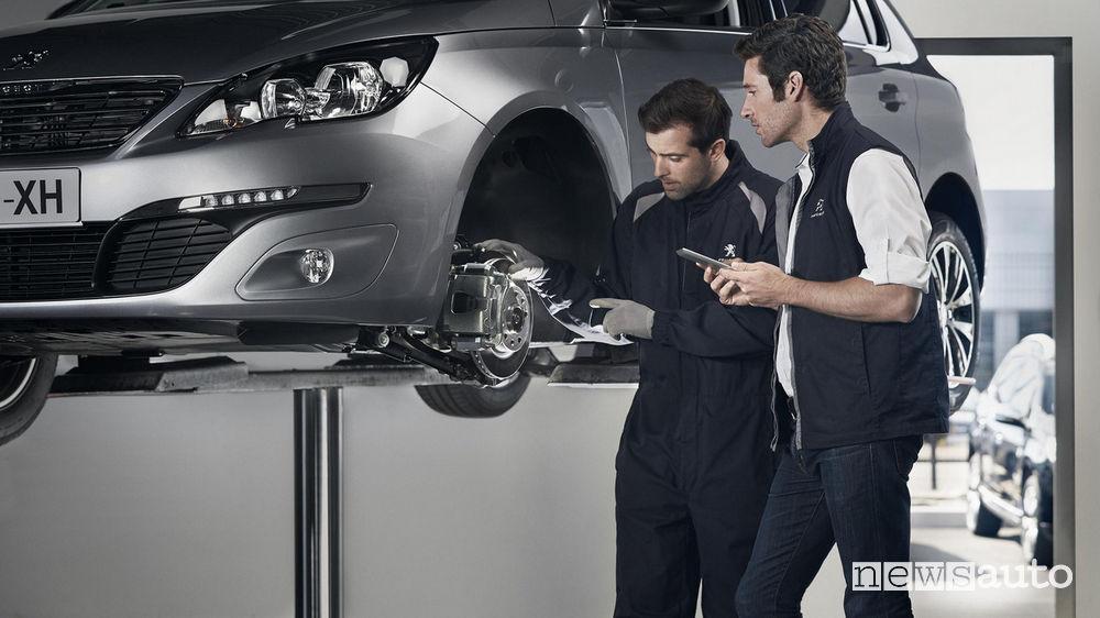 Manutenzione auto Peugeot