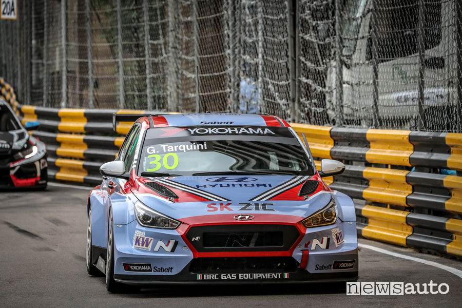 WTCR_2018 Macao Tarquini Hyundai i30 N TCR