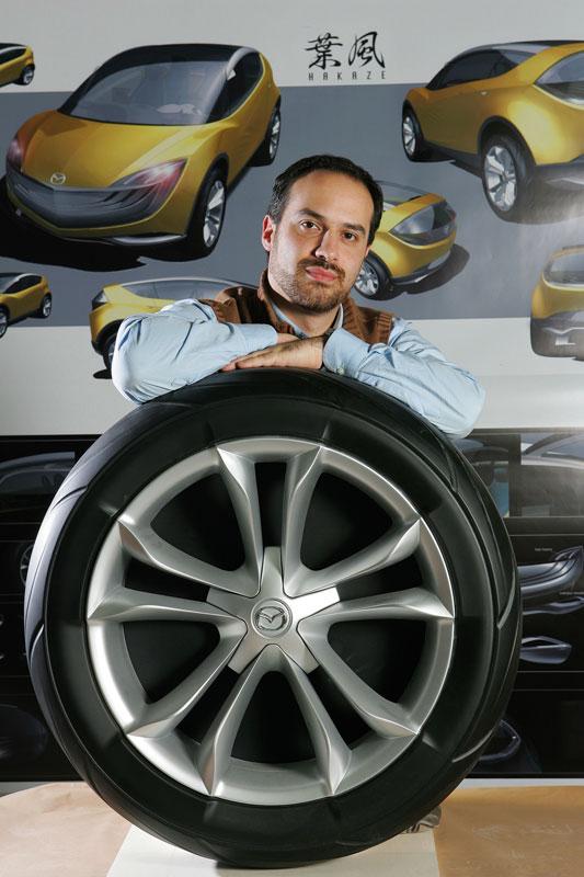 Luca Zollino Designer Mazda