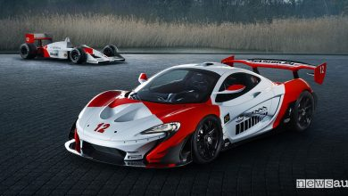Photo of Supercar McLaren, livrea dedicata ad Ayrton Senna