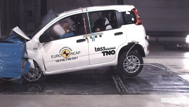 Fiat Panda crash test Euro NCAP